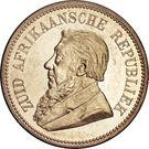 2½ Shillings (Zuid Afrikaansche Republiek) – obverse
