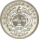 5 Shillings (Zuid Afrikaansche Republiek) – reverse