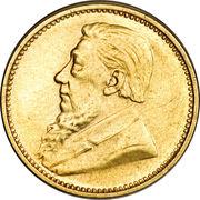 3 Pence (Zuid Afrikaansche Republiek; Gold Pattern) – obverse