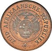 2 Pence (Zuid Afrikaansche Republiek; Transvaal Pattern) – obverse