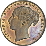 1 Penny - Victoria (Cape of Good Hope) – obverse