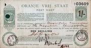 1 Shilling (Orange Free State - Postal Order) – obverse