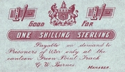 1 Shilling (Green Point Track Camp) – obverse
