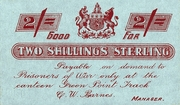 2 Shillings (Green Point Track Camp) – obverse
