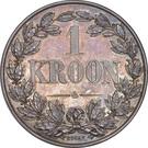 1 Kroon (Orange Free State) – reverse