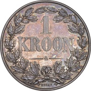1 Kroon (Orange Free State) – reverse