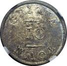 10 'Pence' (Griqua Town) – reverse