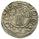 Obol - Boleslaus II the Pious (duke 967-999) – obverse