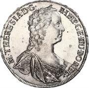 1 Thaler - Maria Theresia (Prague) -  obverse