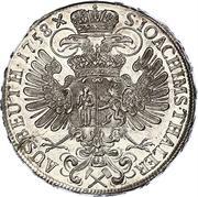 1 Thaler - Maria Theresia (Prague) -  reverse