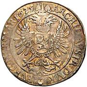 1 Thaler - Ferdinand II (Prague) -  reverse