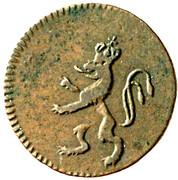 1 Pfennig - Franz I (Prague) -  obverse