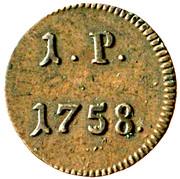1 Pfennig - Franz I (Prague) -  reverse