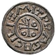 Denar - Boleslaus II the Pious -  obverse