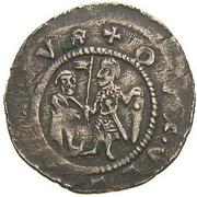 Denar - Vladislaus I (Imprisonment of Jacob Apella) -  obverse