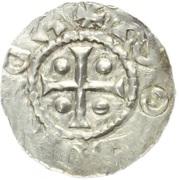 Denar - Boleslaus I the Cruel (duke 935–967/972) – obverse