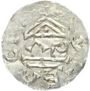 Denar - Boleslaus I the Cruel (duke 935–967/972) – reverse