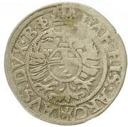 2 Kreuzer - Ferdinand I (Joachimsthal) -  reverse