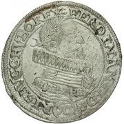 ½ Thaler - 60 Kipper Kreuzer - Ferdinand II (Olmutz) – obverse