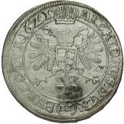 ½ Thaler - 60 Kipper Kreuzer - Ferdinand II (Olmutz) – reverse
