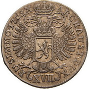17 Kreuzer - Maria Theresia (Prague) -  reverse