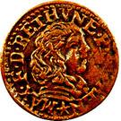 Double Tournois - Maximilien III (5th type) – obverse