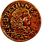 Double Tournois - Maximilien III (5th type) – obverse