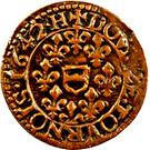 Double Tournois - Maximilien III (5th type) – reverse