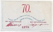 70 Pfennig – reverse