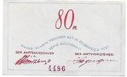 80 Pfennig – reverse