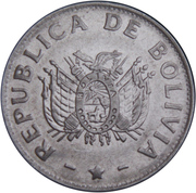 1 Boliviano -  obverse