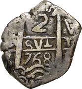 2 Reales - Charles III – reverse