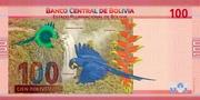 100 Bolivianos (Padilla, Calatayud & Sucre) – reverse