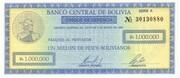 1.000.000 Pesos Bolivianos – obverse