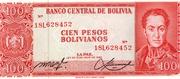 100 Pesos Bolivianos – obverse