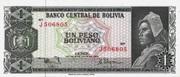 1 Peso Boliviano -  obverse