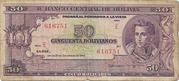 50 Bolivianos (5 Bolivares - Law 20.12.1945)