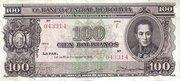 100 Bolivianos – obverse