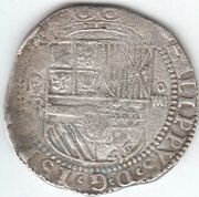 4 Reales - Philip II – obverse