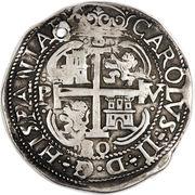 8 Reales - Charles II – obverse
