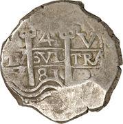 4 Reales - Charles II – reverse