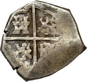 2 Reales - Philip III – reverse