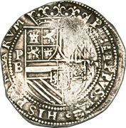 8 Reales - Philip II – obverse