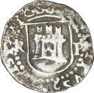 ¼ Real - Felipe II – obverse