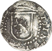 ¼ Real - Philip II – reverse