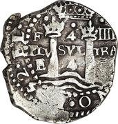 4 Reales - Philip IV – reverse