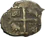 ½ Real - Philip IV – reverse