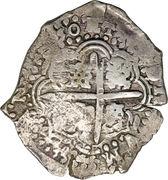 7 ½ Reales - Philip IV – reverse