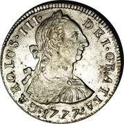 2 Reales - Carlos III -  obverse