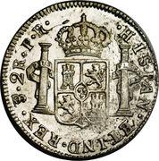 2 Reales - Carlos III -  reverse